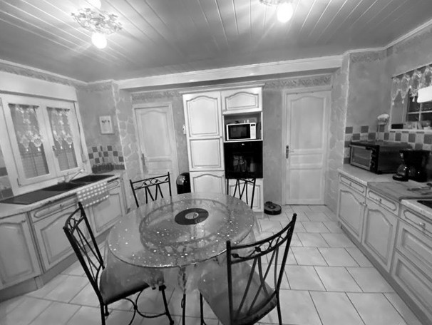 Conception et Décoration Maison de ville dans les Hauts de France - Cuisine avant travaux