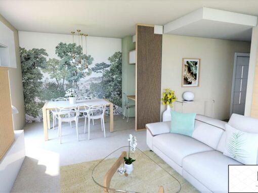 Décoration et agencement d'un grand appartement à Aix en Provence
